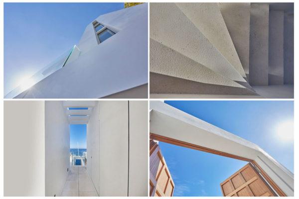 Imagen fotográfica de arquitectura de un edificio